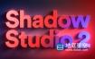 AE插件-精致华丽真实阴影拖尾投影中文汉化插件 Shadow Studio V2 Win破解版 + 使用教程