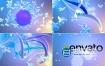 AE模板-多彩明亮的蝴蝶飞舞节目标志logo片头动画