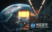 C4D教程-太空列车场景渲染教程 Skillshare – Create A Space Train Scene With Cinema 4D & Redshift Render