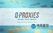 3DS MAX插件-场景模型代理优化插件 Q-Proxies v1.15