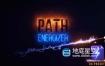 AE预设-能量光效线条特效动画 Path Energizer