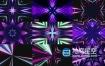 视频素材-10组VJ电视广播音乐会夜总会聚会LED屏幕线条发光循环动画背景视频