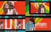 AE模板-时尚动感街头城市街道复古包装活动促销片头 Fashion Models Intro