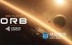 AE插件-三维星球特效插件VideoCopilot ORB v1.0.2 Win/Mac+使用教程