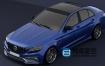 3D模型-梅赛德斯-奔驰C63轿车模型