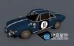 3D模型-菲亚特蓝旗亚汽车C4D模型