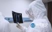 视频素材-实拍医生疫情期间医生穿防护服临床问诊检测