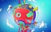 AE模板-三维卡通创意娱乐包装动画