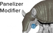3DS MAX插件-面片编辑模型布置分布插件 Panelizer Modifier