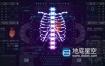 AE模板-450个未来科技感赛博朋克军事科技医疗UI界面HUD元素动画包