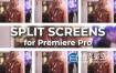 PR模板-22组画面视频分屏动态网格拼贴动画 Split Screens Kit