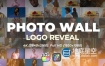 FCPX插件-图片视频照片墙logo标志动画片头展示 Photo Wall Logo Reveal