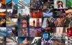 FCPX模板-照片墙Logo标志展示动画 Logo Opener – Photo Wall