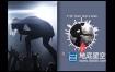 FCPX模板-媒体音乐播放器音频可视化动画 Custom Media Player