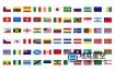 AE模板-国家旗帜国旗飘动图标动画 250+ Country Flags Icons