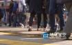 视频素材-简约大气城市人行道人流脚步实拍素材