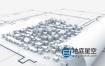 达芬奇模板-三维建筑设计建筑师蓝图房地产Logo动画 Architect Plan Logo