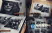 AE模板-黑色神秘的历史档案图片介绍片头动画 History Secret Files