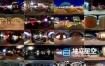 环境贴图-52个夜晚霓虹灯环境高动态HDRI素材