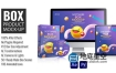 AE模板+PR预设-三维产品广告包装盒子设计展示动画 Box Product Mock-up