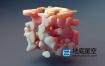 C4D插件-材质噪波变形镂空腐蚀特效动画 CodeVonc Proc3durale v2.0.1