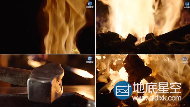 视频素材:震撼完整的钢铁炼制过程视频素材