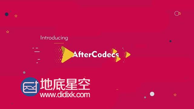 AE/Premiere/Encoder加速渲染编码插件 Aescripts AfterCodecs v1.10.3 Win/Mac