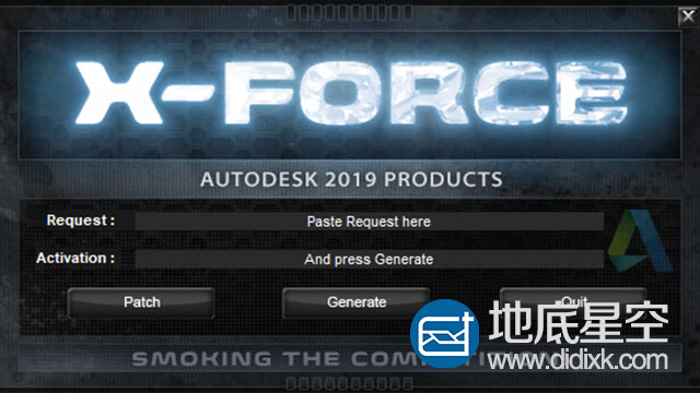 Autodesk 2019 Win/Mac XForce注册机+ NLM破解+软件密钥