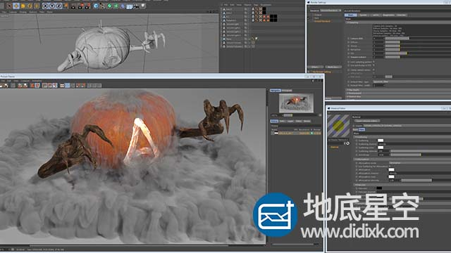 C4D插件:阿诺德Arnold渲染器 SolidAngle C4DtoA 2.5.2.1 Win/Mac