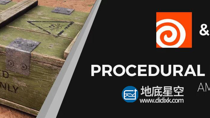 Houdini教程:武器箱建模 Gumroad – Procedural Props – Ammo Crate Course