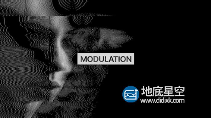 AE插件-电子信号波纹特效模拟插件 Aescripts Modulation v2.1