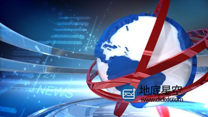 AE模板-突发新闻直播播报体育天气预报片头动画
