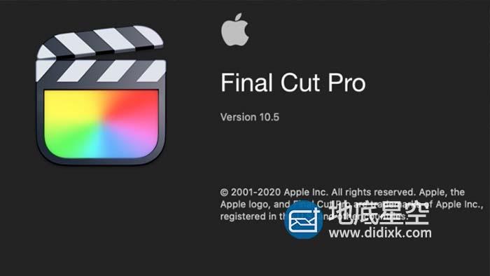 Apple Final Cut Pro X / FCPX v10.5.3 中文版/英文版/多语言破解版