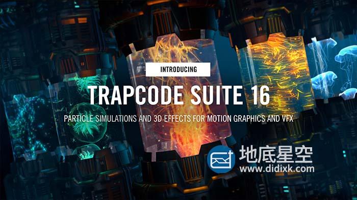 红巨星粒子套装AE插件 Red Giant Trapcode Suite 16.0.4(含序列号)
