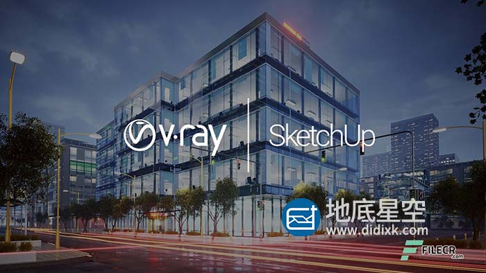 Sketchup Vray渲染器破解版 V-Ray 5.10.03 for SketchUp