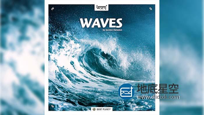 音效素材-111组大海潮汐波浪海浪水花环绕立体声音效 Waves