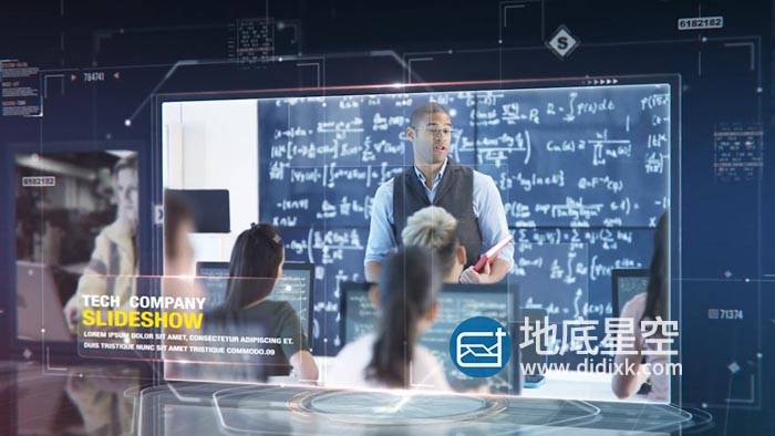 AE模板-科技感图片幻灯片视频企业公司介绍包装宣传片头 Tech Company Slideshow