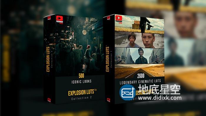 LUTs预设-专业电影级多类型LUTs调色预设
