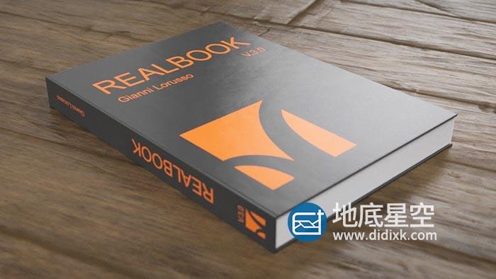 C4D插件-书本翻页预设 Realbook 3.1