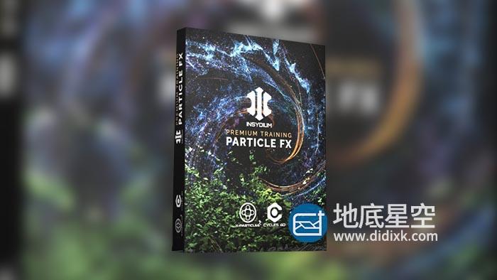 C4D教程-学习强大的X-Particle 4 XP粒子插件使用教程 INSYDIUM Premium Training – Particle FX