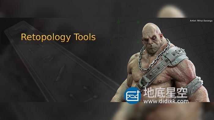 三维模型重拓扑软件 TopoGun 3 Beta 26813 Win破解版