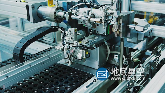 视频素材-实拍行业工厂生产车间工业自动化流水线