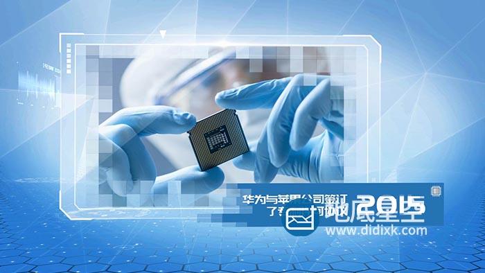 AE模板-企业公司科技产品研发历史宣传