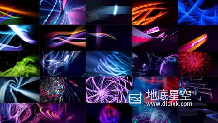 视频素材-30组VJ高清LED舞台屏幕动态素材