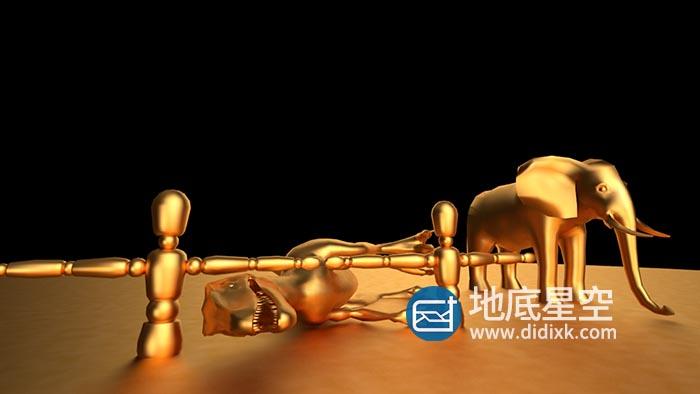 金属材质-黄金材质