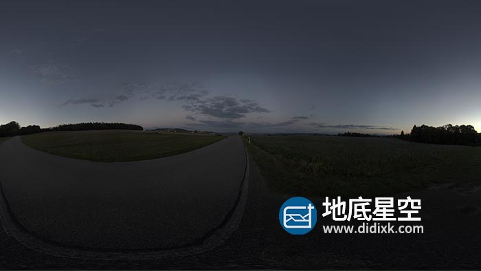 环境贴图-户外道路HDR环境贴图
