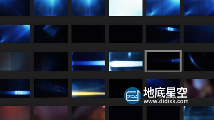 视频素材-148段4K唯美镜头光效光斑叠加素材